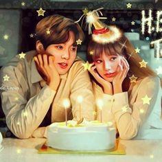 Happy birthday to you baby❤️ Jungkook Fanart, Foto Jungkook, Kpop Fanart, Foto Bts, Bts Taehyung, Bts Girlfriends, Bts Kiss, Wattpad Background, Kpop Couples