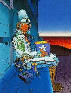 Moebius. just got this one framed.