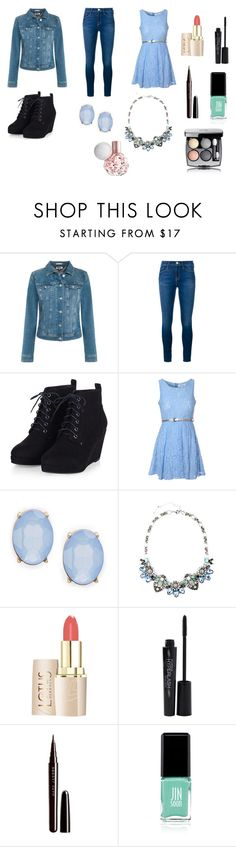 """""""Untitled #2"""" by swimmingmaya12 on Polyvore featuring Tommy Hilfiger, Frame Denim, Glamorous, Cara, Smashbox, Marc Jacobs, Jin Soon and Chanel"""