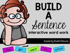 Wild about Word Work!!