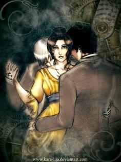 Jem, Tessa & Will (The Infernal Devices) [...Dust and Shadows... by kara-lija]