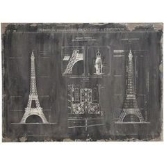 Bring a touch of French-inspired style to your perfect above the mantel or beside a picture window.Product: Wall art    Construction Material: WoodColor: Black    Dimensions: 36 H x 48 W Cleaning and Care: Wipe with dry cloth