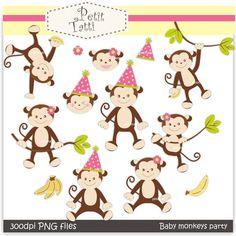 birthday monkeys