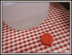 water jug via milk jug by piercing holes in top lid