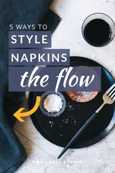 5 Creative Ways To Use Napkins In Food Styling - - Do you struggle to tame linens and napkins in food styling? Then watch this video on 5 creative ways to fold them to create beautiful food photography. Food Photography Props, Photography Tips, Photography Composition, Phone Photography, Food Styling, My Best Recipe, Facon, Creative Food, Baby Food Recipes