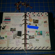 Last week's layout in my Filofax with my recollections inserts. #plannerjunkie #planner #planneraddicts #planneraddict #plannerlove #plannergirl #plan #filofaxoriginal #filofaxlove #filofax #filofaxpersonal #filofaxnavy #nautical #nauticaltheme #plannercommunity #planwithme #planwithbelinda #weeklyspread by anchored2myplanner
