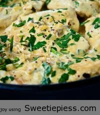 Creamy Dijon Chicken By Miss Robbie