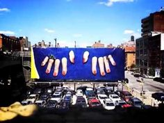Latest HIGH LINE BILLBOARD by Maurizio Cattelan and Pierpaolo Ferrari for Toilet Paper | The High Line Blog