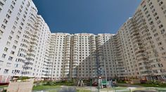 Collective housing - #architecture #googlestreetview #googlemaps #googlestreet #russia #moscow #brutalism #modernism