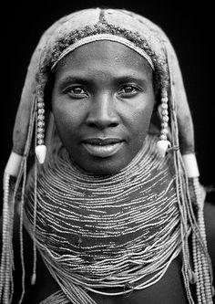 Mwila Woman Wearing The Vilanda Necklace, Chibia Area, Angola | Flickr - Photo Sharing!