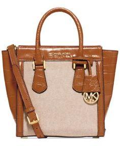 f8e89dc3553e MICHAEL Michael Kors Colette Medium Messenger  298.00 Types Of Handbags