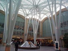 """Tree"" Columns | Forum | Archinect Unique Architecture, Interior Architecture, Tree Structure, Architectural Columns, Retail Facade, Space Frame, Steel Columns, Commercial Architecture, Roof Design"