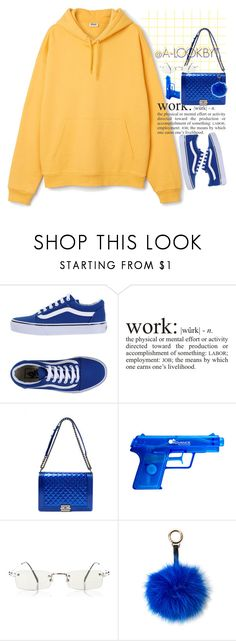 """FINALLY DONE W/ HS!! GRADUATION WEDNESDAY!"" by a-lookbyt ❤ liked on Polyvore featuring Vans, WALL, Chanel, Jean-Paul Gaultier and Surell"