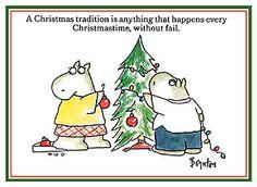 Christmas Sandra Boynton Hippo | The Sandra Boynton Hippo Card Collection / Christmas