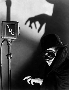 """Radio Show: The Shadow Photograph  -  Fine Art Print"""