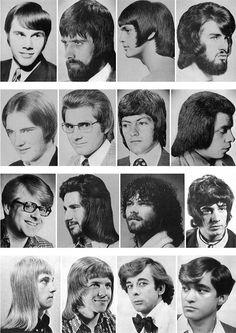 Peinados de los 70