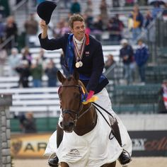 """""""I have used a number of supplements in the past but Grand Meadows has surpassed all my expectations. I truly believe that Grand Meadows products have helped my horses to maintain their condition and have enhanced their performance. I highly recommend them."""" - William Fox-Pitt (GBR); Multiple Olympic, World & European Gold/Silver Medalist / FEI World Eventing-Ranked #1"""