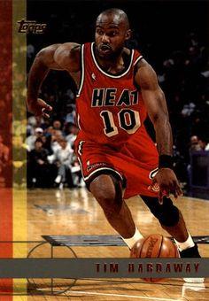 Tim Hardaway Miami Heat