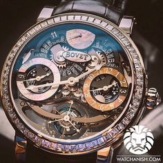 Luxury like this is not easy to find. Bovet tourbillon Recital16 in White Gold & Diamonds setting.