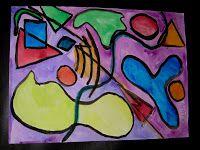 Mrs. Art Teacher!: Kandinsky watercolor - round two