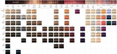 Hair Color Correction Chart 1038 Coloration Igora Royal In 2019 Leos Signature Couleur Schwarzkopf, Schwarzkopf Hair Color Chart, Igora Hair Color, Palette Hair Color, Hair Dye Colors, Paul Mitchell Color Chart, Color Rubio, Schwarzkopf Professional, Auburn Hair