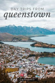 Queenstown, New Zealand: love it or hate it, you shouldn't forget about the rest of the Southern Lakes region. Here are three options for day trips to take from Queenstown -- each one a beautiful drive, but also a worthwhile destination in its own right. New Zealand Itinerary, New Zealand Travel, Visit Australia, Australia Travel, Australia 2018, Auckland, Cool Places To Visit, Places To Go, Melbourne