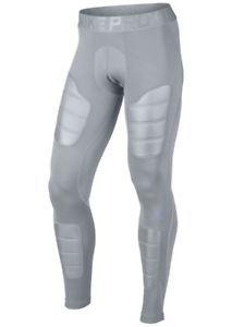 Nike Pro HyperWarm AeroLoft Tights Compression Pants Gray Men s sz M New   120 828817f2d1f8
