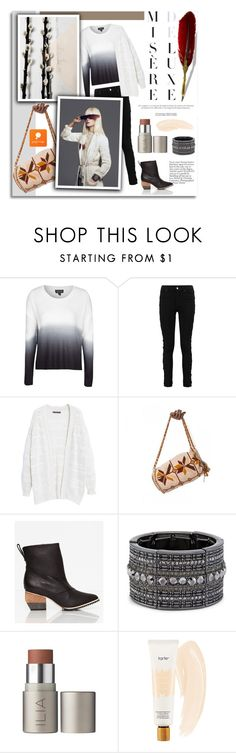 """""""Popmap 2"""" by melissa-de-souza ❤ liked on Polyvore featuring Topshop, Violeta by Mango, Chico's, tarte, women's clothing, women's fashion, women, female, woman and misses"""