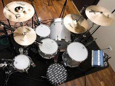 #travisbarker drum kit :)