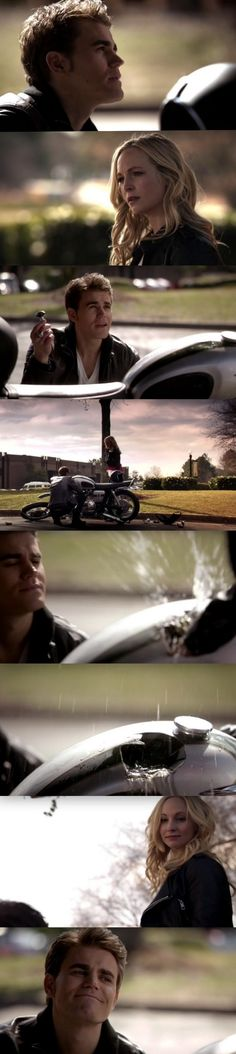 The Vampire Diaries TVD 6X17 - Stefan & Caroline