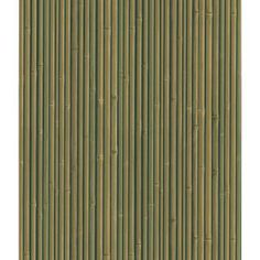 bedroom: bamboo wallpaper on accent wall