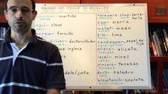 Curso de ingles 267: Nombres de herramientas en ingles