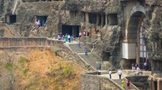 10 Amazing Places to Visit in India that Aren't the Taj Mahal ~ cave monuments were initially started 2200 years ago, the Ajanta Caves
