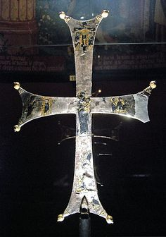 Middle Ages Museum, Paris.Engraved Byzantine cross - 1000s.
