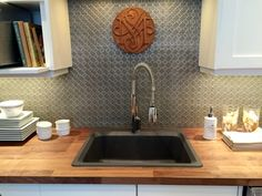 faux tin backsplash rolls - 2'x10' roll - $65 / many colors & patterns available