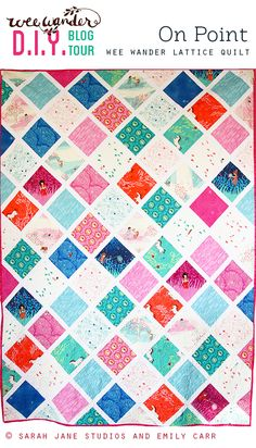 Wee Wander Blog Tour: Twin Quilt Pattern