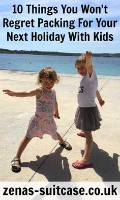 10 Things You Won't Regret Packing For Your Next Holiday With Kids