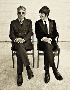 Paul Weller and Miles Kane