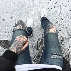Cool style tattoo