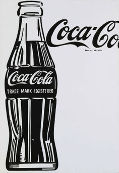 "Pop Art Is Poster (unframe) (Andy Warhol Coca-Cola, Produced in in conjunction with ""Pop Art Is"" at Gagosian Gallery, Britannia Street 27 x 39 inches x 100 cm) Andy Warhol Pop Art, Andy Warhol Marilyn, Pop Art Poster, Poster S, Arte Pop, Jasper Johns, Jean Michel Basquiat, Cultura Pop, Vaporwave"