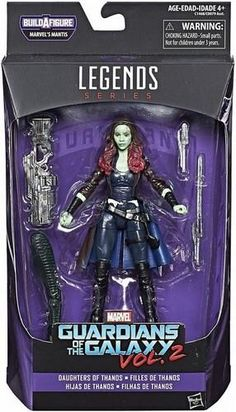 GAMORA ACTION FIGURE GUARDIANS OF THE GALAXY MARVEL LEGENDS UNIVERSE MINTY 2015