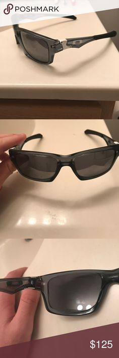 Customized Authentic Oakley sunglasses My brother customized these glasses but never wore them so he gave them to me. I've never really worn them so I'm reselling. Originally bought for $210 Oakley Accessories Glasses