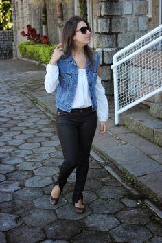 Nanda Pezzi - Colete jeans