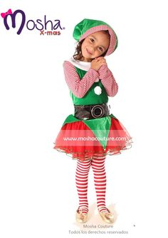 Toddler happy christmas elf costume - Disfraces duendes navidenos ...
