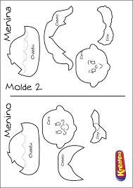 Resultado de imagem para molde de casal caipira em eva