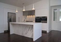 Image result for l shaped kitchen with island bench