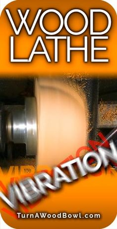 Wood Lathe Vibration can be frustrating, dangerous and create a rough surface. Learn how to REMOVE Wood Lathe Vibration to make quality wood bowls. Woodturning Tools, Lathe Tools, Woodworking Lathe, Woodworking Supplies, Woodworking Projects, Woodworking Videos, Wood Turning Lathe, Wood Turning Projects, Wood Lathe
