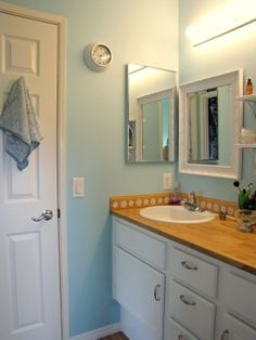 Bathroom remodel on the cheap