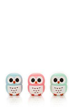 Owl Lip Balm Set   Forever21 - 1000099193