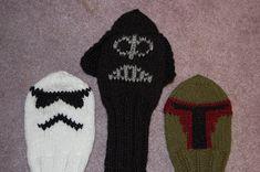 Katiedid Crafts: Darth Vader Golf Club Cover Pattern